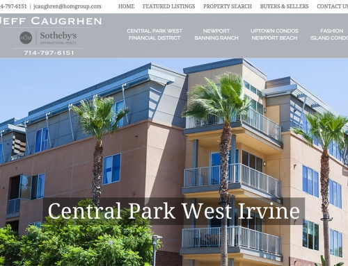 Web Design for Orange County Realtor